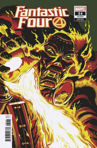 Fantastic Four #34 (Rodriguez Cover)
