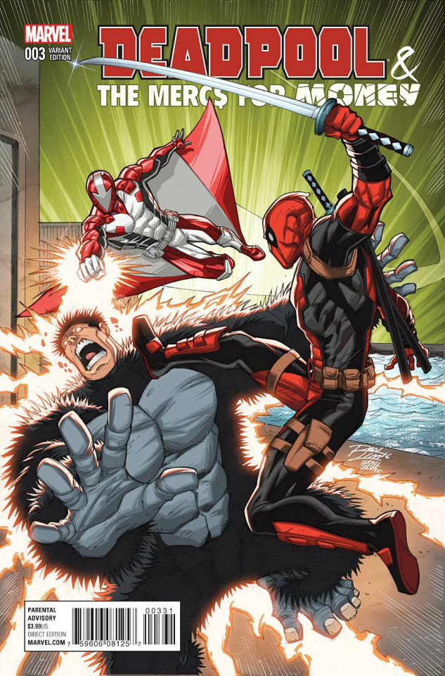 Deadpool and the Mercs For Money #3 (Lim Cover)