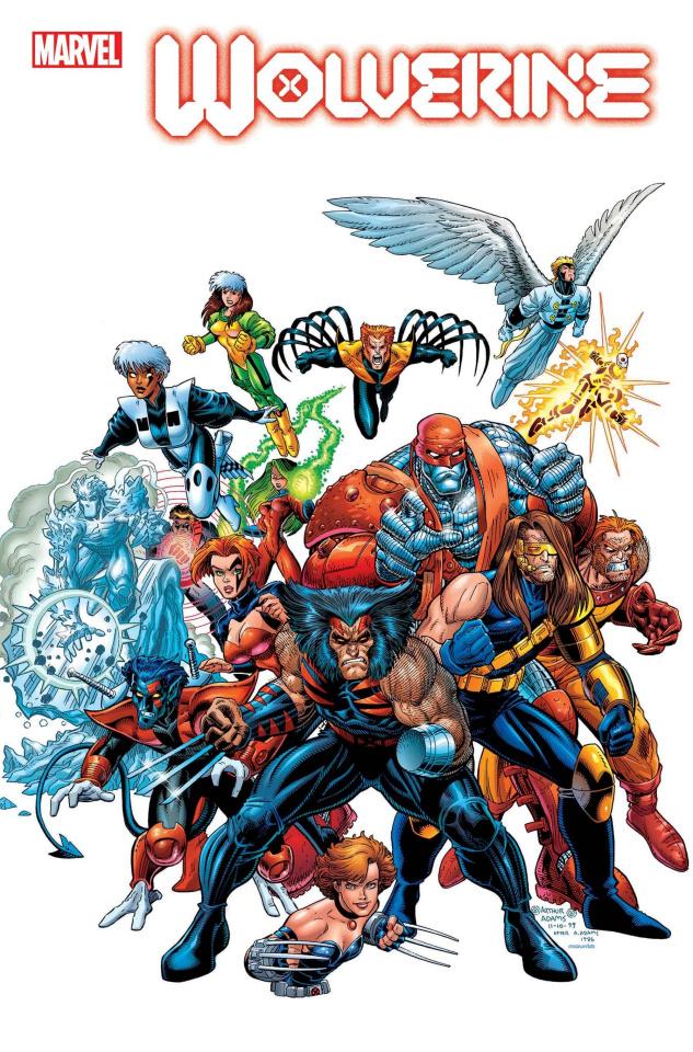 Wolverine #8 (Adams Hidden Gem Cover)