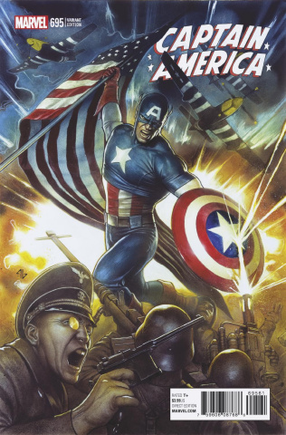 Captain America #695 (Granov Cover)