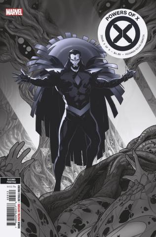 Powers of X #5 (Silva 2nd Printing)