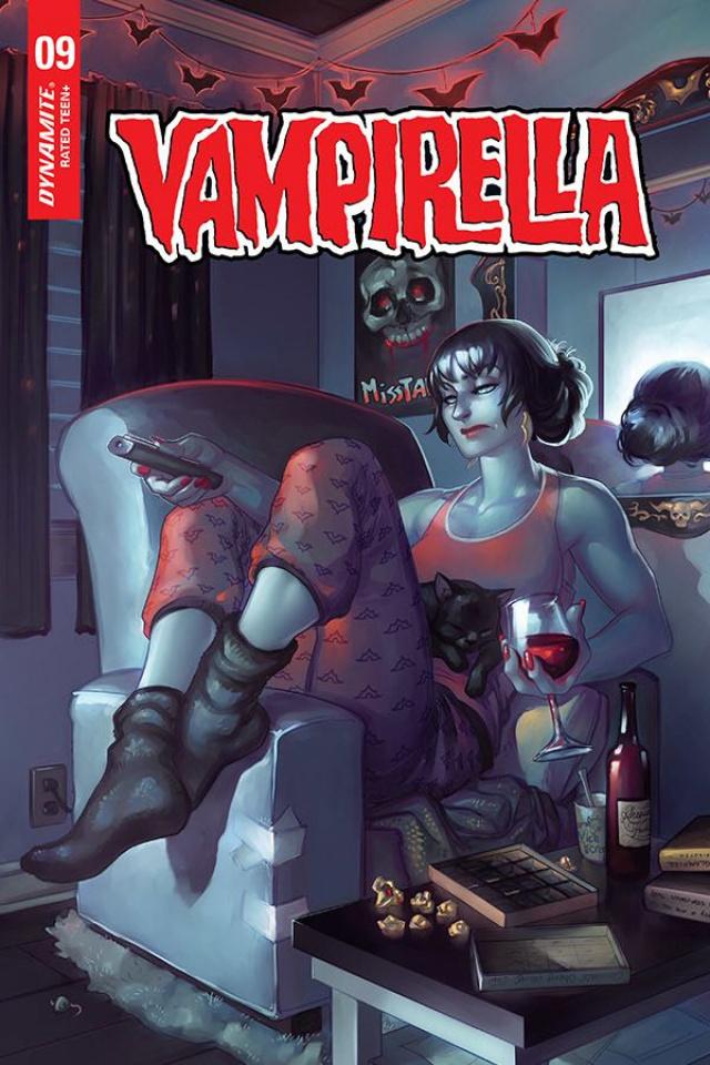 Vampirella #9 (Hetrick Bonus Cover)