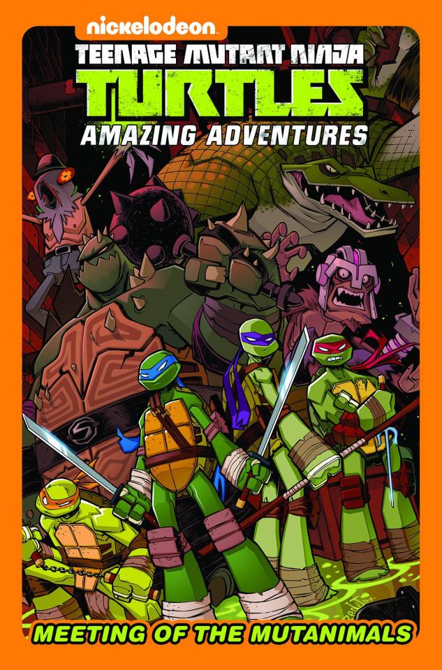 Teenage Mutant Ninja Turtles Adventures: Meeting of the Mutanimals