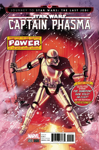 Journey to Star Wars: The Last Jedi - Captain Phasma #1 (Homage Cover)