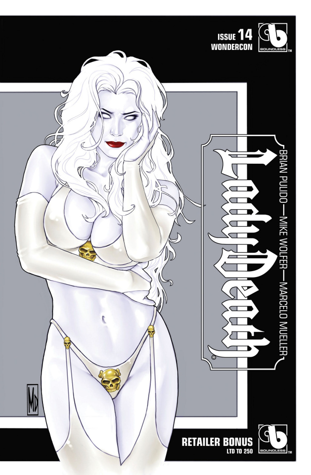 Lady Death #14 (Wondercon Retailer Bonus Cover)