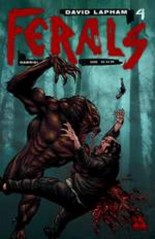 Ferals #4 (Gore Cover)