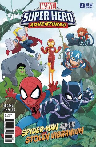 Marvel Super Hero Adventures: Spider-Man and the Vibranium #1