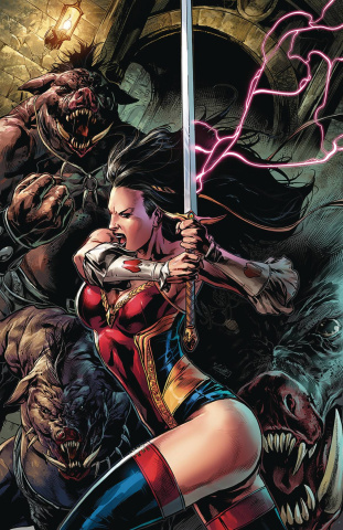 Grimm Fairy Tales #38 (White Cover)