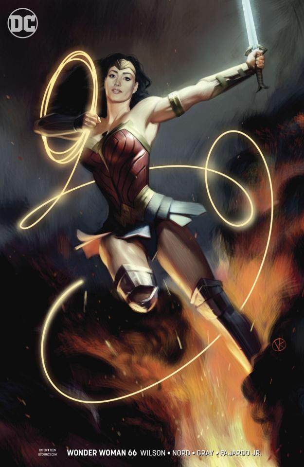 Wonder Woman #66 (Variant Cover)