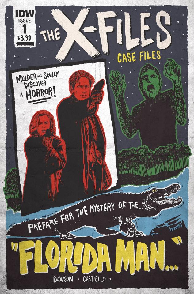 The X-Files Case Files: Florida Man #1 (Lendl Cover)