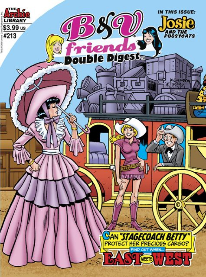 Betty & Veronica Friends Double Digest #213