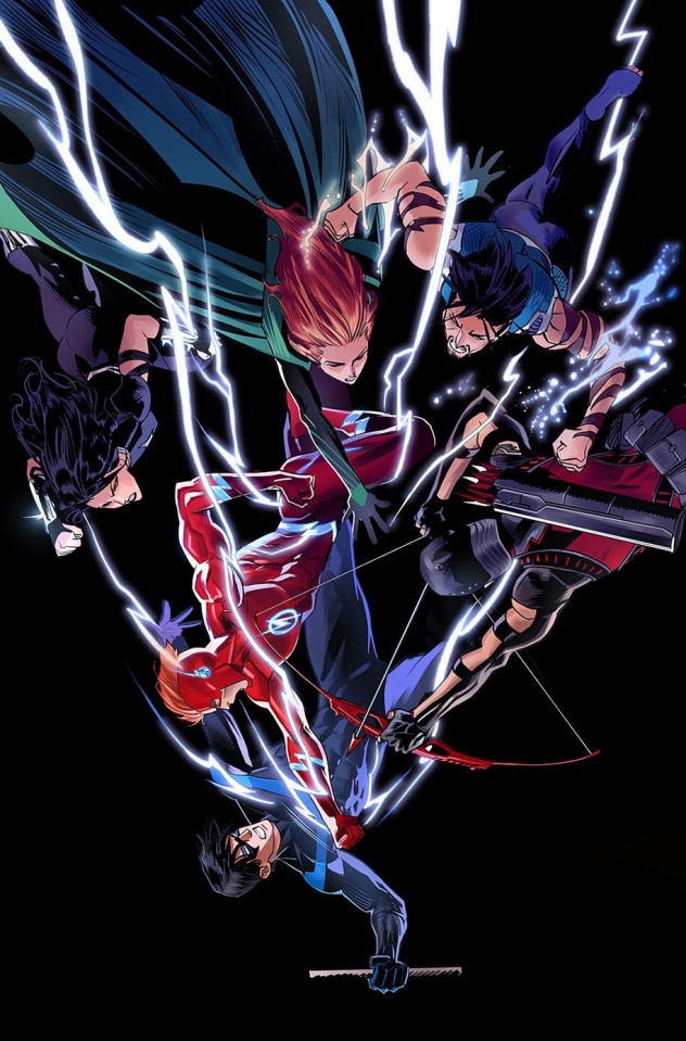 Titans #15 (Variant Cover)