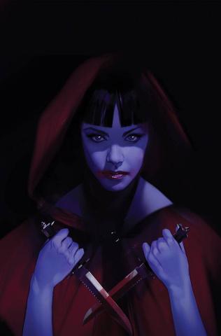 Vengeance of Vampirella #18 (Oliver Virgin Cover)