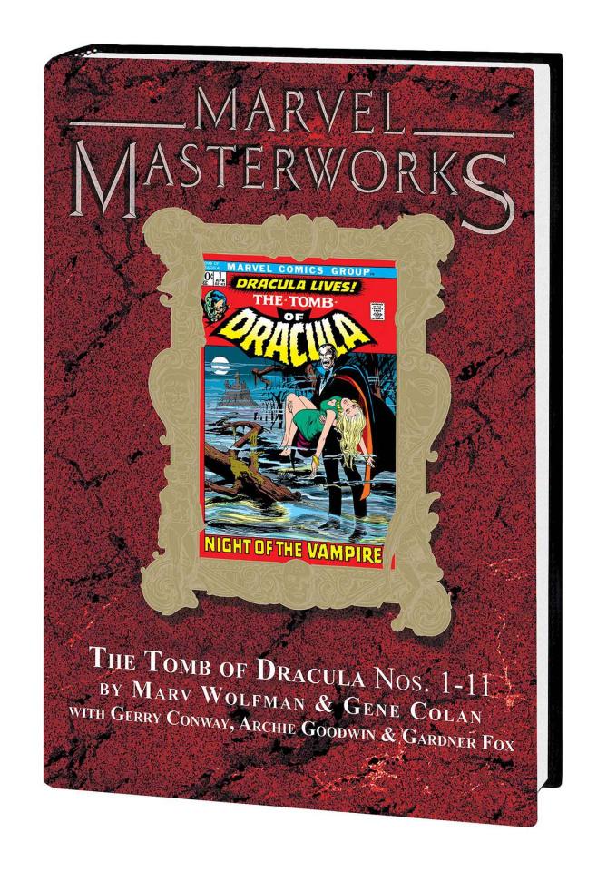 The Tomb of Dracula Vol . 1 (Marvel Masterworks)