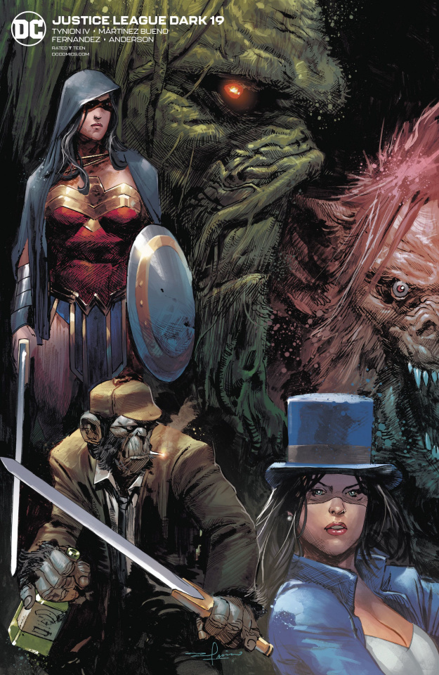 Justice League Dark #19 (Variant Cover)