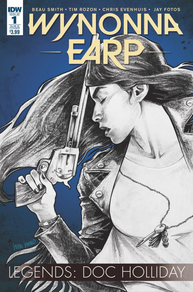 Wynonna Earp Legends: Doc Holliday #1 (Subscription Cover)