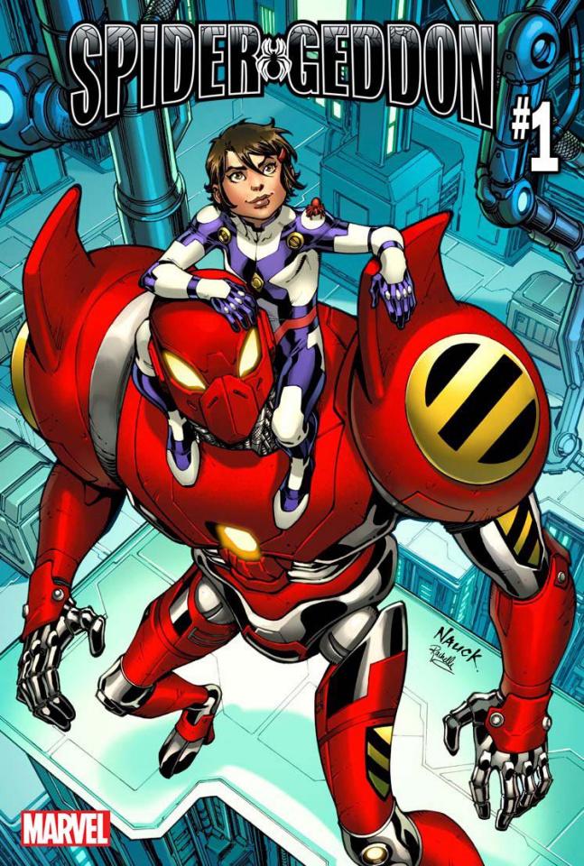 Spider-Geddon #1 (Nauck Peni Parker Cover)