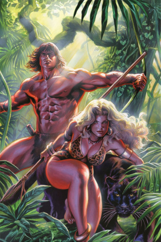 Lords of the Jungle #6 (Rare Massafera Virgin Art Cover)