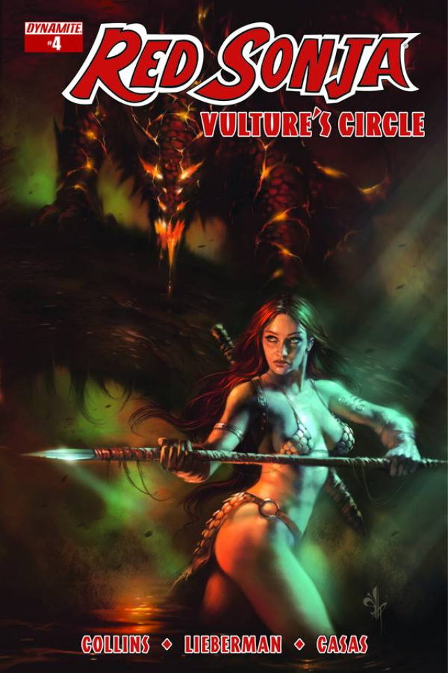 Red Sonja: Vulture's Circle #4 (Subscription Cover)