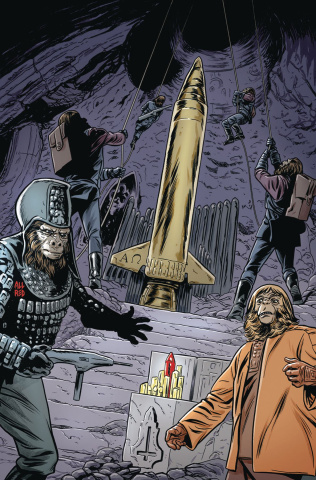 The Planet of the Apes: Ursus #6