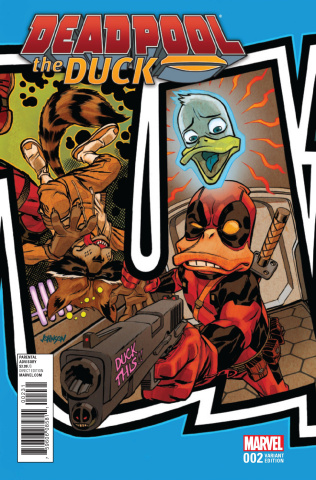 Deadpool the Duck #2 (Johnson Connecting Cover)