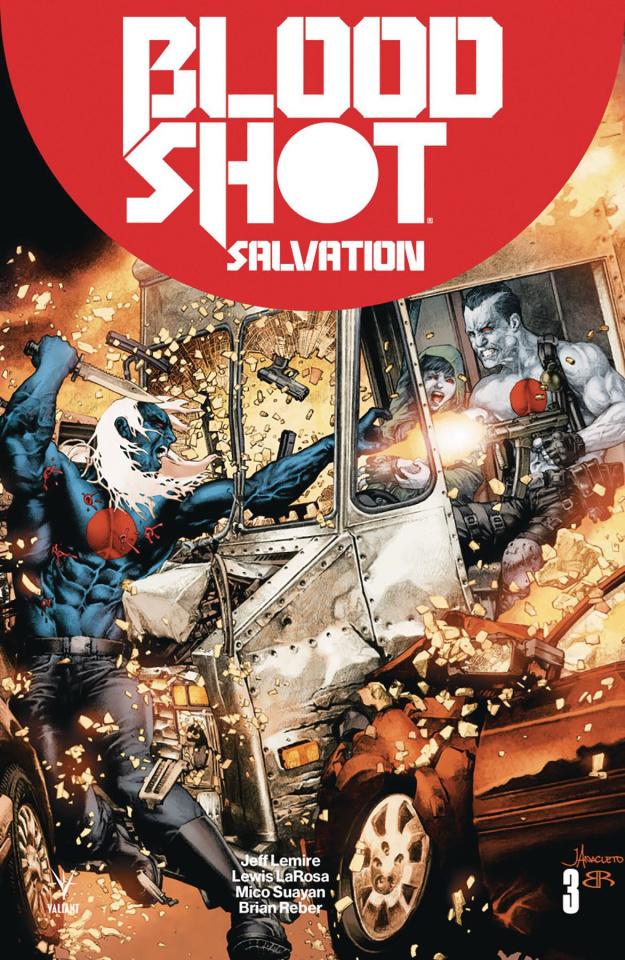 Bloodshot: Salvation #3 (Battle Damaged Anacleto Cover)
