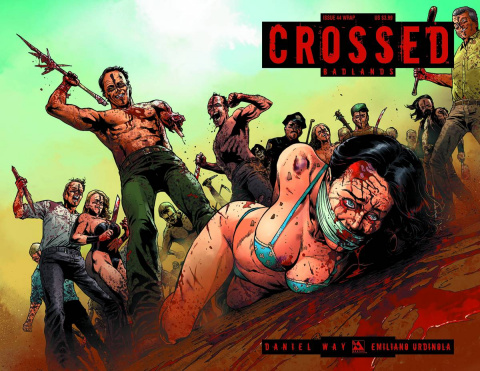 Crossed: Badlands #44 (Wrap Cover)