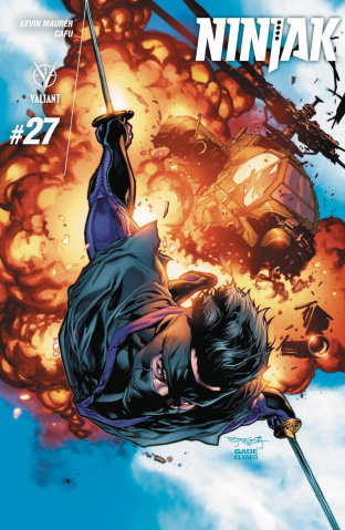 Ninjak #27 (Segovia Cover)