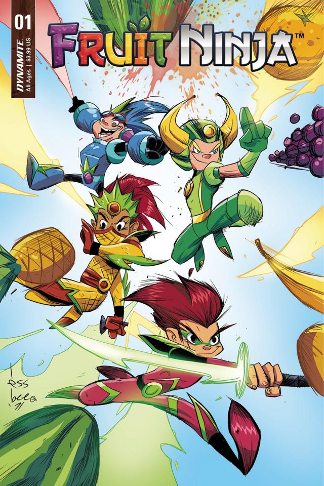 Fruit Ninja #1 (Brown Cover)
