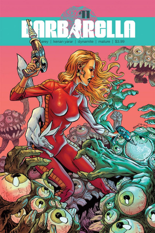 Barbarella #11 (Browne Cover)