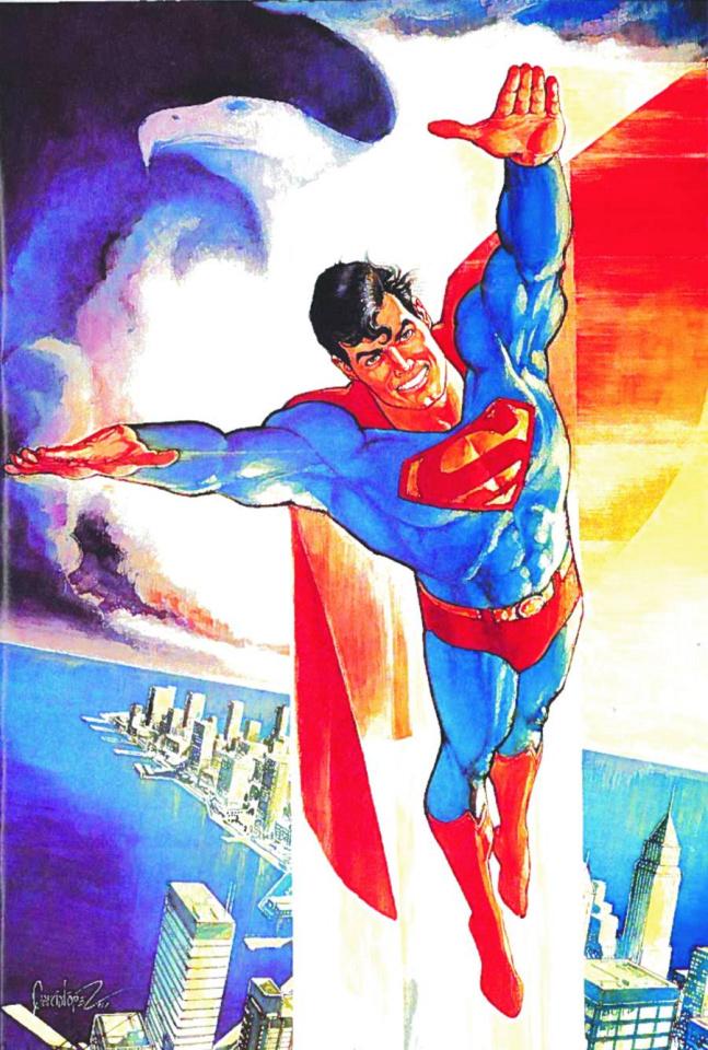 The Adventures of Superman by Jose Luis Garcia Lopez