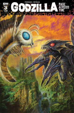 Godzilla: Rage Across Time #3
