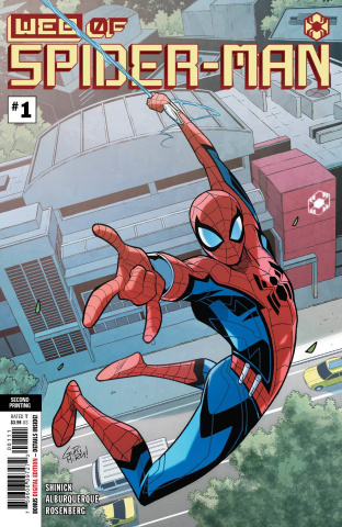Web of Spider-Man #1 (Gurihiru 2nd Printing)