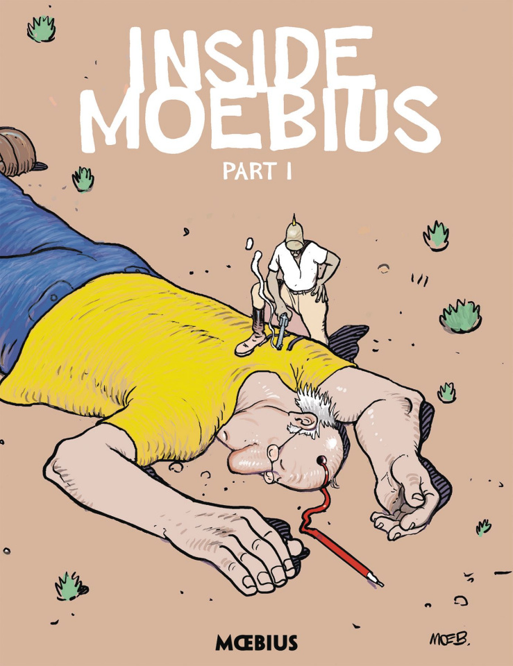Moebius Library: Inside Moebius Vol. 1