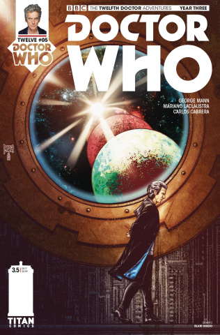 Doctor Who: New Adventures with the Twelfth Doctor, Year Three #5 (Shedd Cover)