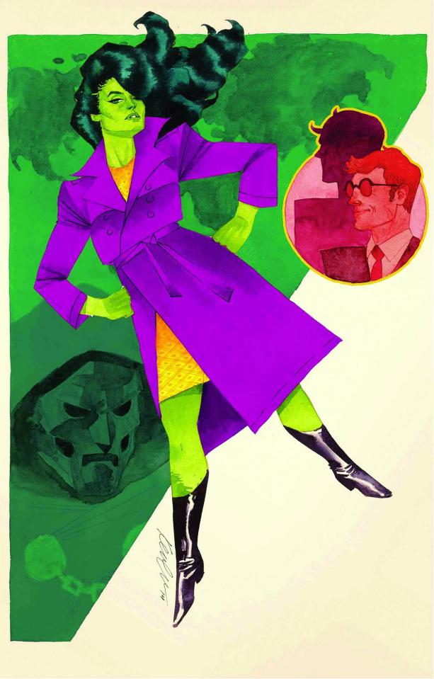 She-Hulk #4 (2nd Printing)