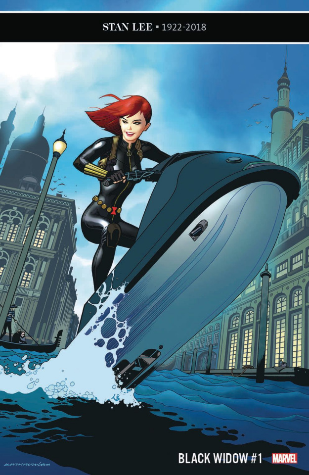 Black Widow #1 (Nowlan Cover)