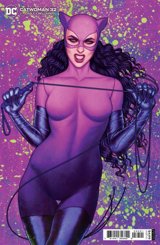 Catwoman #32 (Jenny Frison Card Stock Cover)