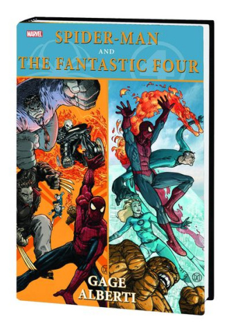 Spider-Man & The Fantastic Four Hardcover