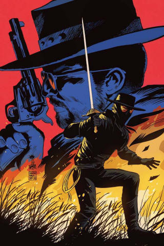 Django / Zorro #2 (15 Copy Francavilla Virgin Cover)