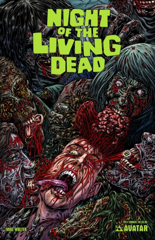 Night of the Living Dead 2011 Annual (Gore Cover)