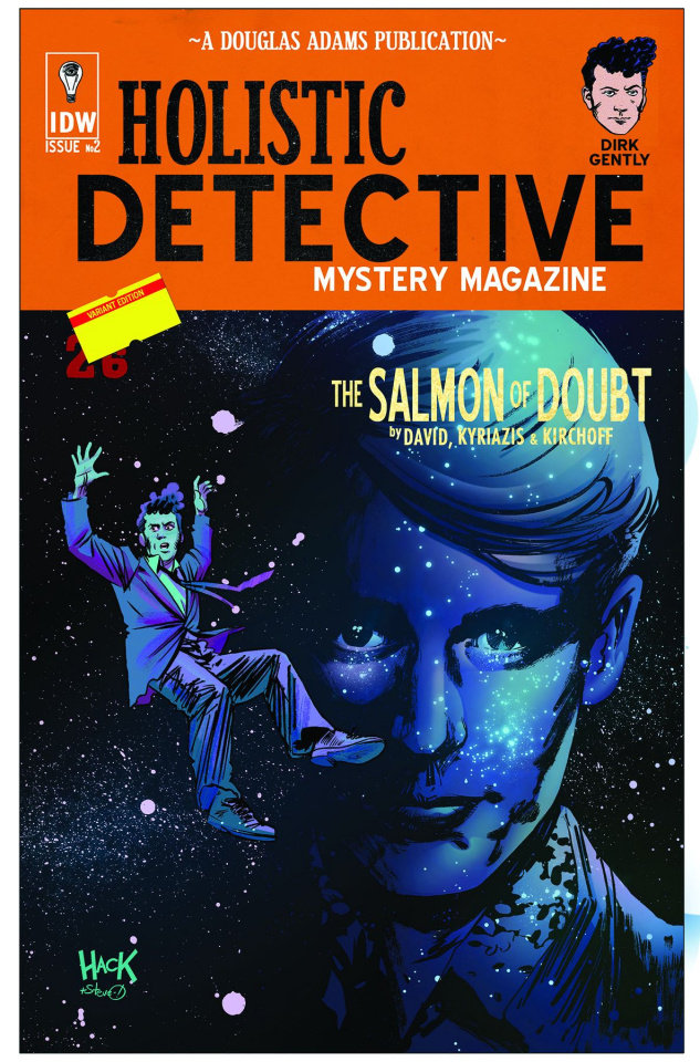 Dirk Gently's Holistic Detective Agency: The Salmon of Doubt #2 (10 Copy Cover)
