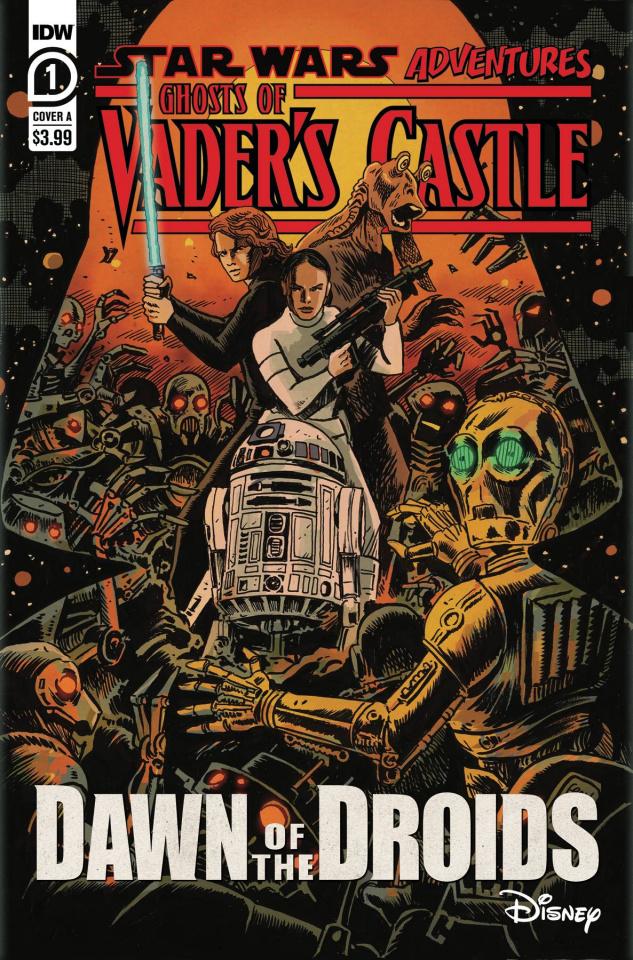 Star Wars Adventures: Ghosts of Vader's Castle #1 (Francavilla Cover)