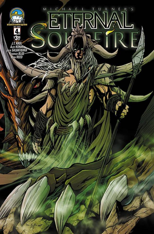 Eternal: Soulfire #4 (Direct Market Cover D)