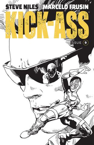Kick-Ass #9 (Frusin Cover)