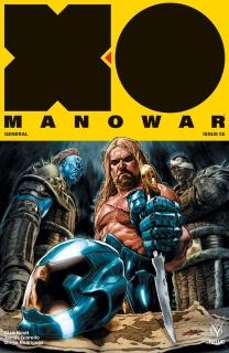 X-O Manowar #5 (Larosa Cover)