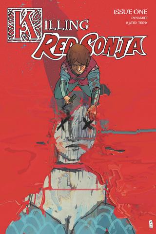 Killing Red Sonja #1 (30 Copy Ward Crimson Cover)