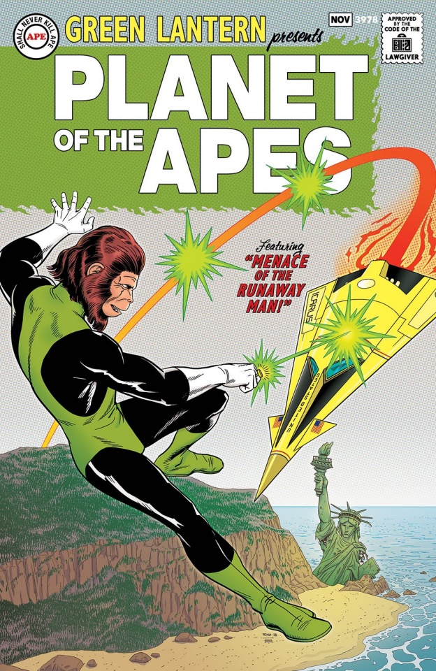 The Planet of the Apes / The Green Lantern #1 (25 Copy Rivoche Silver Age Cover)