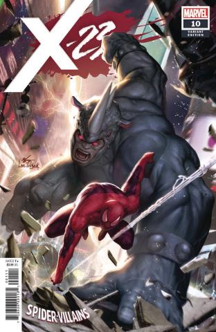 X-23 #10 (Inhyuk Lee Spider-Man Villains Cover)