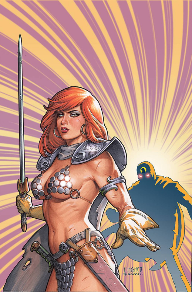 Red Sonja: The Superpowers #2 (Linsner Virgin Cover)